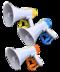 C307 Handling evidence i06 Set megaphones