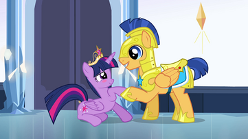 Flash Sentry and Twilight Sparkle