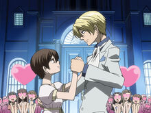 Tamaki and Haruhi