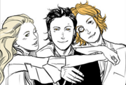 Camille Belcourt, Magnus Bane and Woolsey Scott