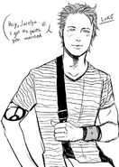 CJ Luke's youth