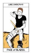 Tarot Blades Page