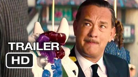 Saving Mr. Banks Official Trailer 1 (2013) - Tom Hanks Movie