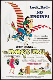 Poster of the movie The Monkey's Uncle