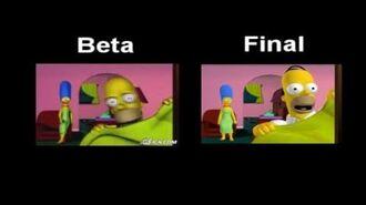 The Simpsons- Hit & Run - Level 1 Movie Comparison