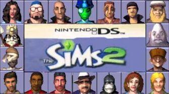 Sims 2 (DS) Music - Strangetown Theme