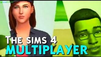 The sims 4 Multiplayer Trailer ANTIGO - THE SIMS 4