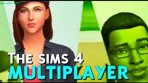 The sims 4 Multiplayer Trailer ANTIGO - THE SIMS 4