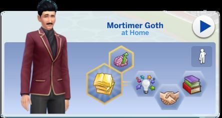 Mortimer Goth Simology