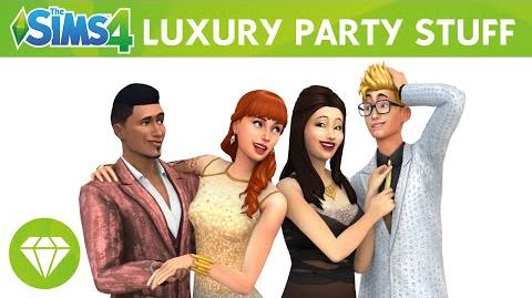 The Sims 4 Luxury Party Stuff- Official Trailer