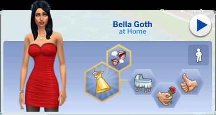 Bella Goth Simology
