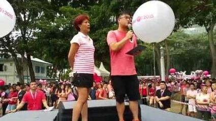 Avin Tan's speech at Pink Dot 2015