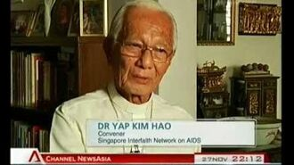 Rev. Dr. Yap Kim Hao urges religions to reach out to people living with HIV AIDS in Singapore