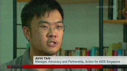 Avin Tan HIV in Indonesia