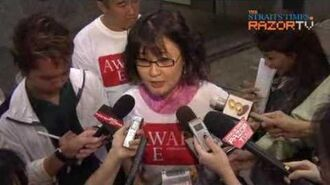 AWARE new Ms Dana Lam interview, Part 1.