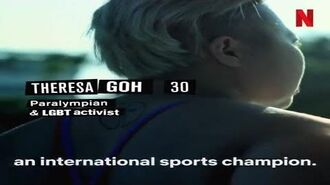 Netflix features Theresa Goh as paralympian & LGBT activist