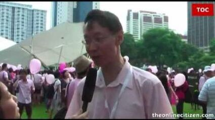 The Online Citizen interviews the organiser and participants of the inaugural Pink Dot, 16 May 2009