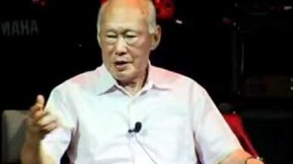 Lee Kuan Yew answers Loretta Chen's question on homosexuality