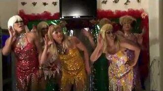 Its Raining Men- Gay Drag Show in Singapore in Queen Resort
