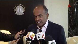 K Shanmugam- S'pore society has to decide on legality of gay sex