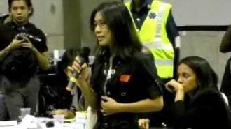 Women spoke against Josie Lau and team