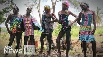 Tiwi Islands Sistagirls attend the Sydney Mardi Gras for the first time - ABC News