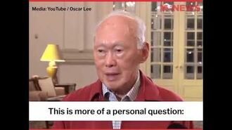 """Lee Kuan Yew's views on homosexuality from """"Hard truths to keep Singapore going"""", 2011"""