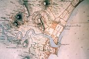 Part of Singapore Island (British Library India Office Records, 1825, detail)