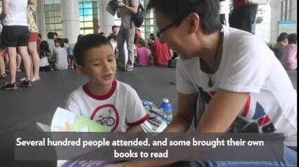 TODAY Let's Read Together! held at National Library atrium TODAYonline