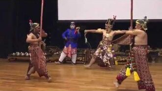 Bugis cultural performances at the Malay Heritage Centre's exhibition in October 2017