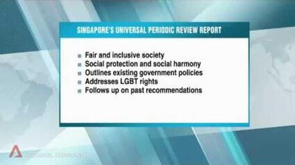 Singapore to address LGBT rights for first time in Universal Periodic Review (2016)