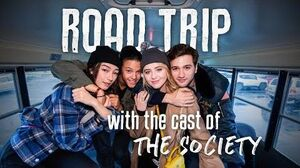 The Society Cast Takes a Road Trip Netflix