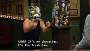 HEWKII IS THE TRASH MAN