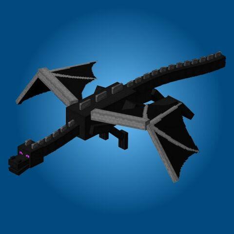 FileMinecraft Ender Dragon Papercraft