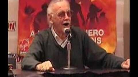 Stan Lee Panel at NY Comic Con Excelsior!