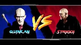Quinlan The Strain Video Game FX