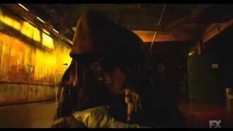 Crazy-Ass Dracula Beatdown from The Strain