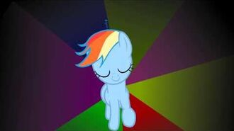 Rainbow Dash Swag Walk