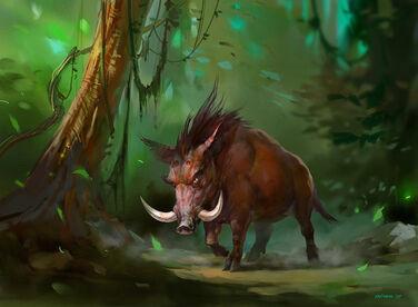 Wild boar by ivelin-d3ctpil