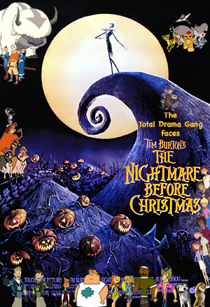 filetd gang faces the nightmare before christmas posterjpg - The Nightmare Before Christmas Poster