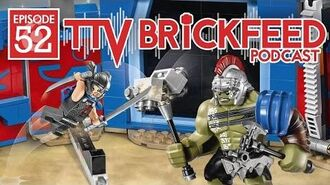 LEGO Thor Ragnarok, Justice League, and Ninjago Movie Set Details BrickFeed Podcast 52