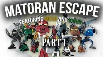 Matoran Escape with Meso and Viper Part 1