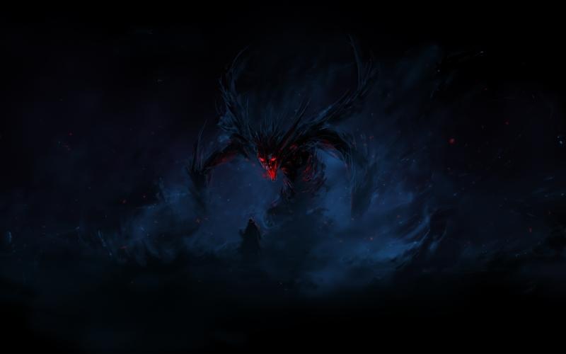 Monsters Demons Darkness Artwork 1920x1200 Wallpaper Wallmay 83