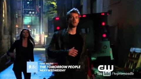 """The Tomorrow People 1x02 Promo """"In Too Deep"""" HD"""