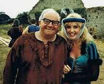 Ronnie Barker and Susie Silvey