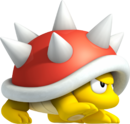 Spiny Artwork - New Super Mario Bros. 2