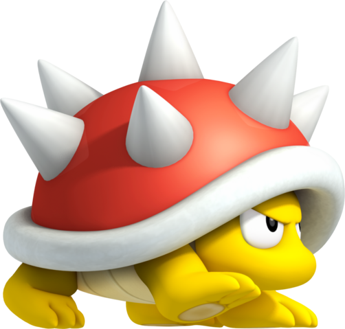 File:Spiny Artwork - New Super Mario Bros. 2.png
