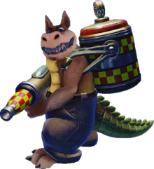 Crash Bandicoot N. Sane Trilogy Dingodile