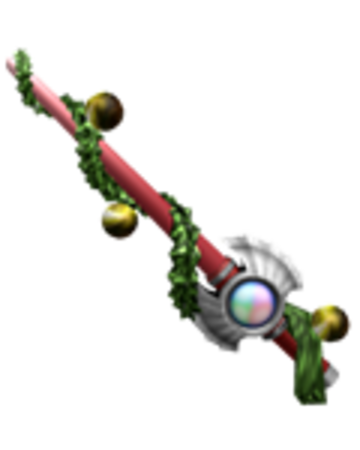 Holiday Saber The Unofficial Roblox Assassin Wiki Fandom