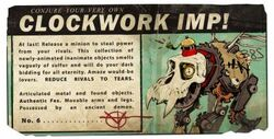 Mail clockwork card 1